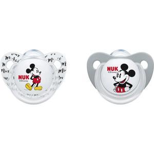 NUK Beruhigungssauger Trendline Silikon Disney Mickey Mouse 6-18 Monat EUR/