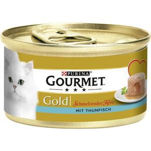 Gourmet Gold Schmelzender Kern mit Thunfisch 0.58 EUR/100 g (12 x 85.00g)