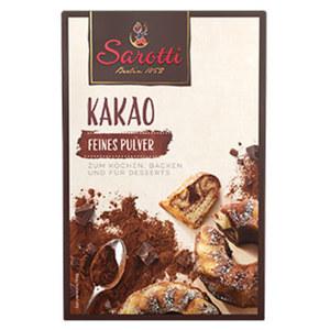 Sarotti Kakao feines Pulver jede 125-g-Packung
