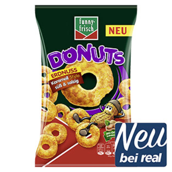 Funny-Frisch Donuts karamellisiert süß & salzig jeder 110-g-Beutel