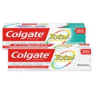 Colgate Zahncreme Total versch. Sorten, jede 75-ml-Packung