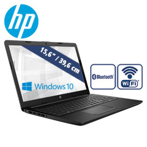 Notebook 15-db0514ng · entspiegeltes HD-SVA-Display · AMD Dual-Core E2-9000e (bis zu 2 GHz) · AMD Radeon™ R2 Graphics · USB 2.0, USB 3.1 · DVD-Laufwerk