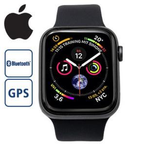 Apple Watch - Series 4 · 64 Bit Dual-Core S4 Prozessor · 16-GB-Speicher · WLAN 802.11/b/g/n 2,4 GHz · elektrischer u. optischer Herzsensor · Gehäuseboden aus Keramik und Saphierglas