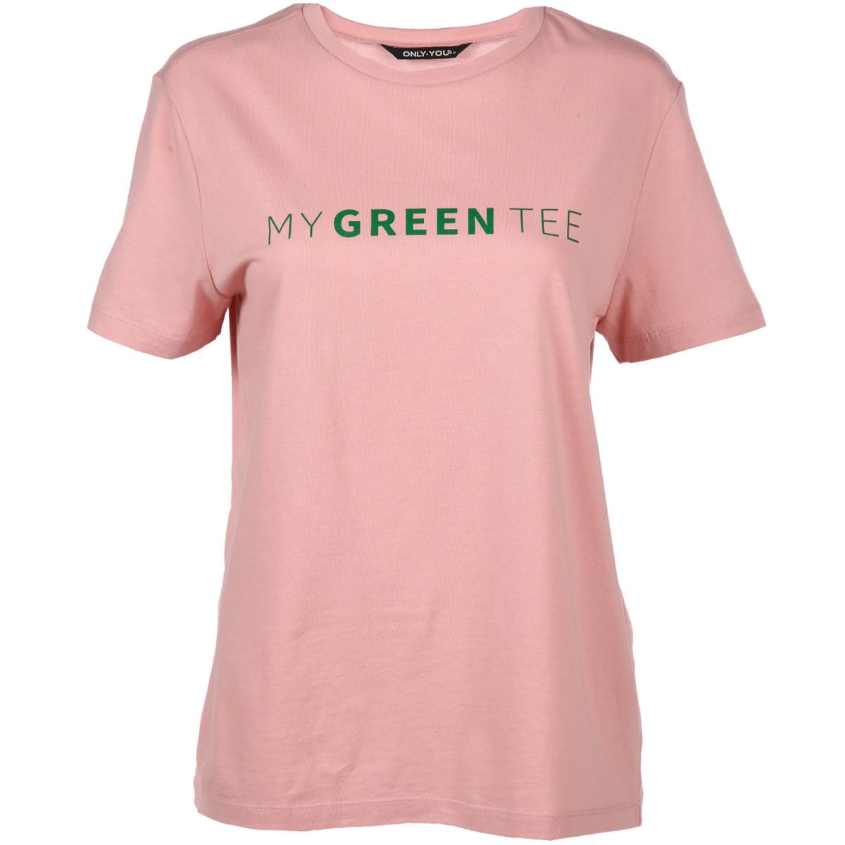 Bild 1 von Damen Only Shirt mit Wording Print