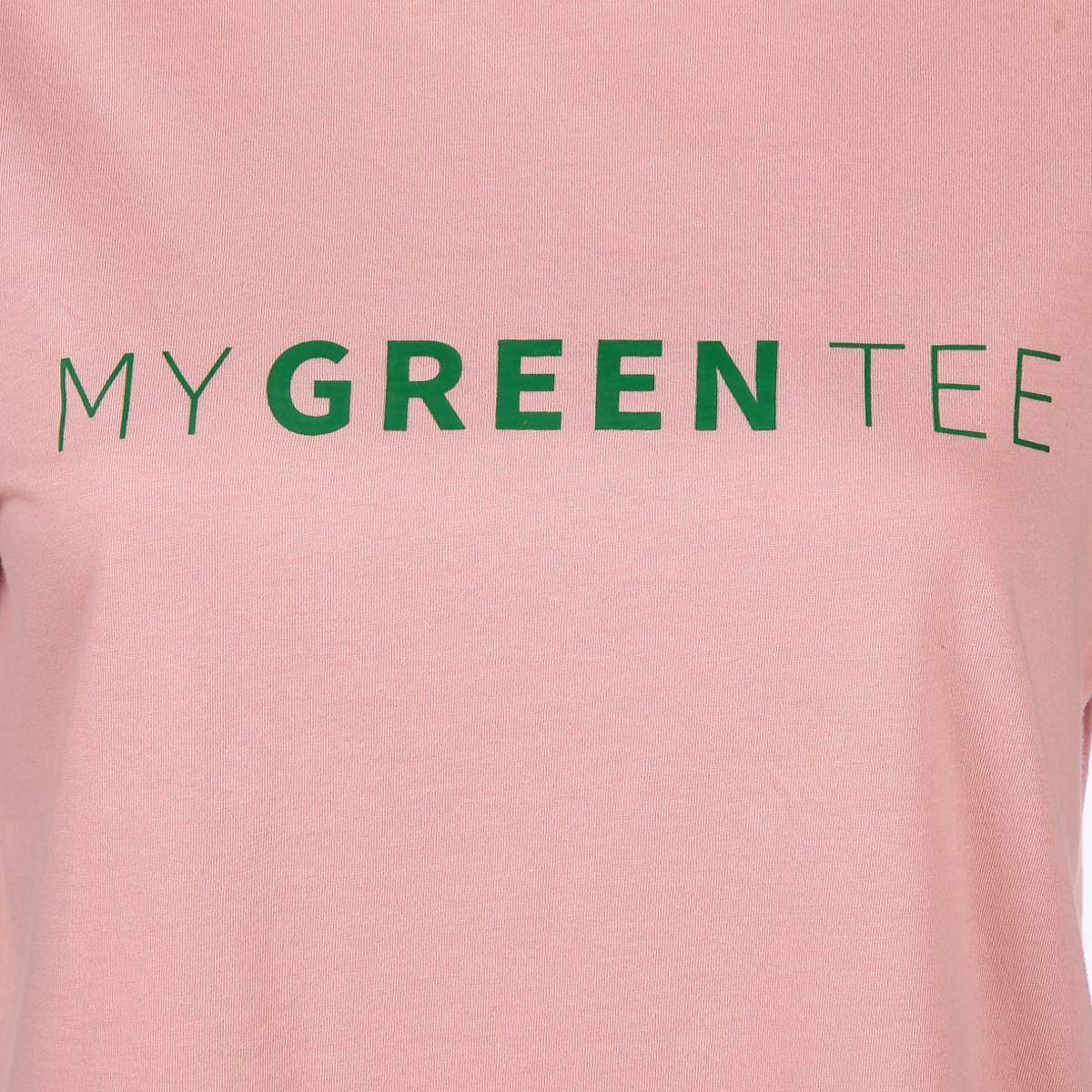 Bild 3 von Damen Only Shirt mit Wording Print