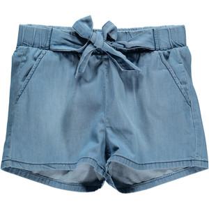 Mädchen Shorts mit Gürtel
