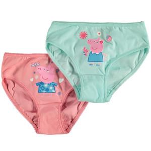 Mädchen Unterhosen 2er Pack mit Print