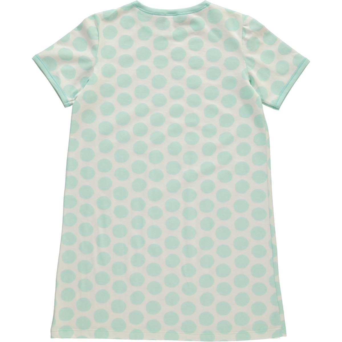 Bild 2 von Mädchen Nachthemd mit Punkten in Größe 98