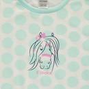 Bild 3 von Mädchen Nachthemd mit Punkten in Größe 98