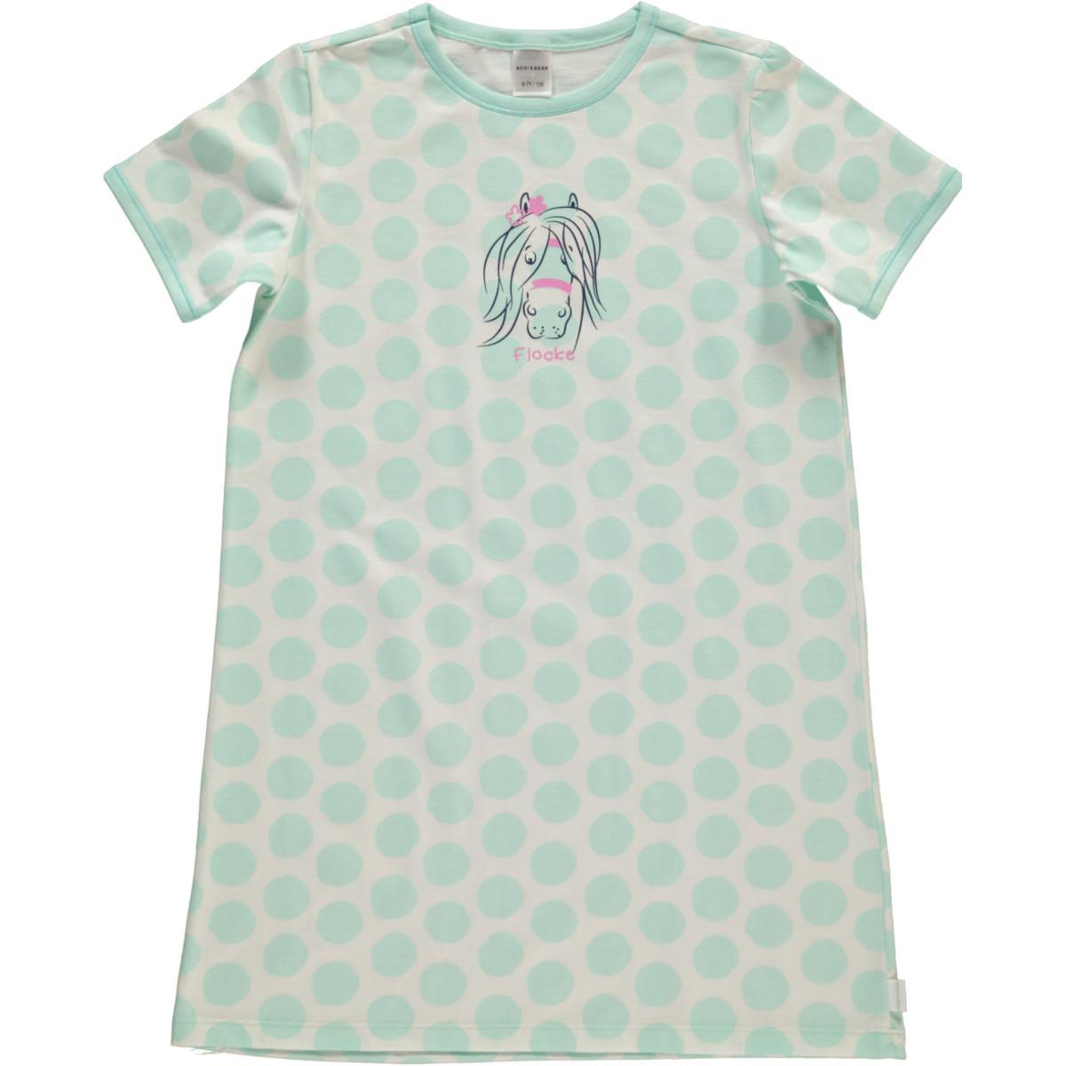 Bild 1 von Mädchen Nachthemd mit Punkten in Größe 104
