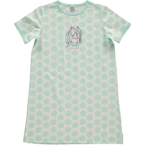 Mädchen Nachthemd mit Punkten in Größe 116