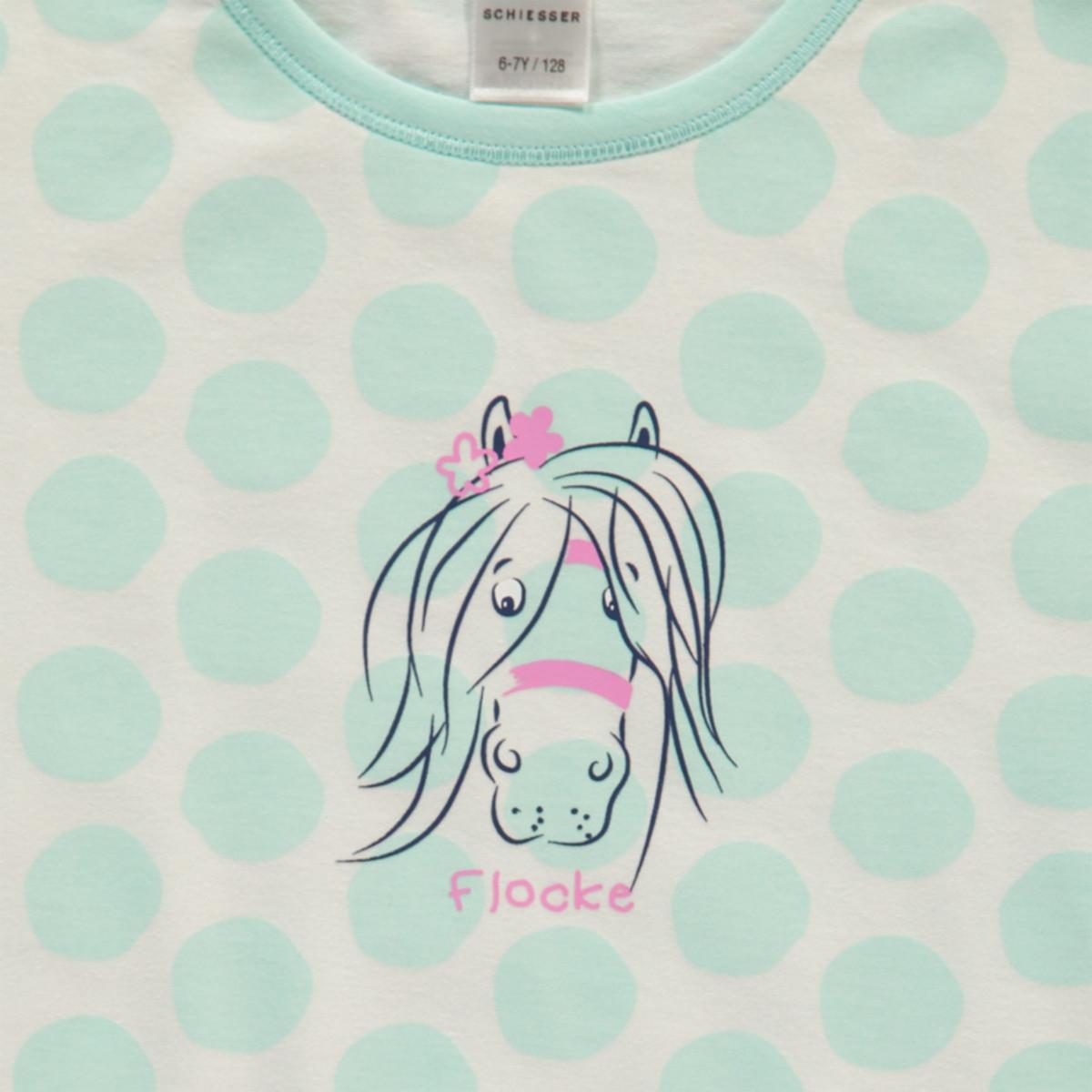 Bild 3 von Mädchen Nachthemd mit Punkten in Größe 116