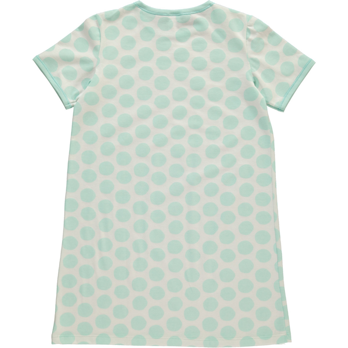 Bild 2 von Mädchen Nachthemd mit Punkten in Größe 128