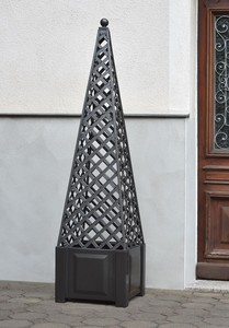 KHW Ranksäule Obelisk anthrazit