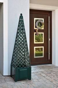 KHW Ranksäule Obelisk grün