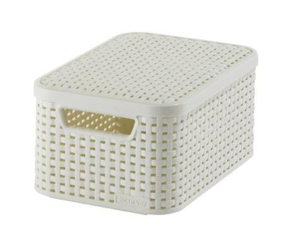 Bild 1 von Curver 3-er Set STYLE Box S mit Deckel creme