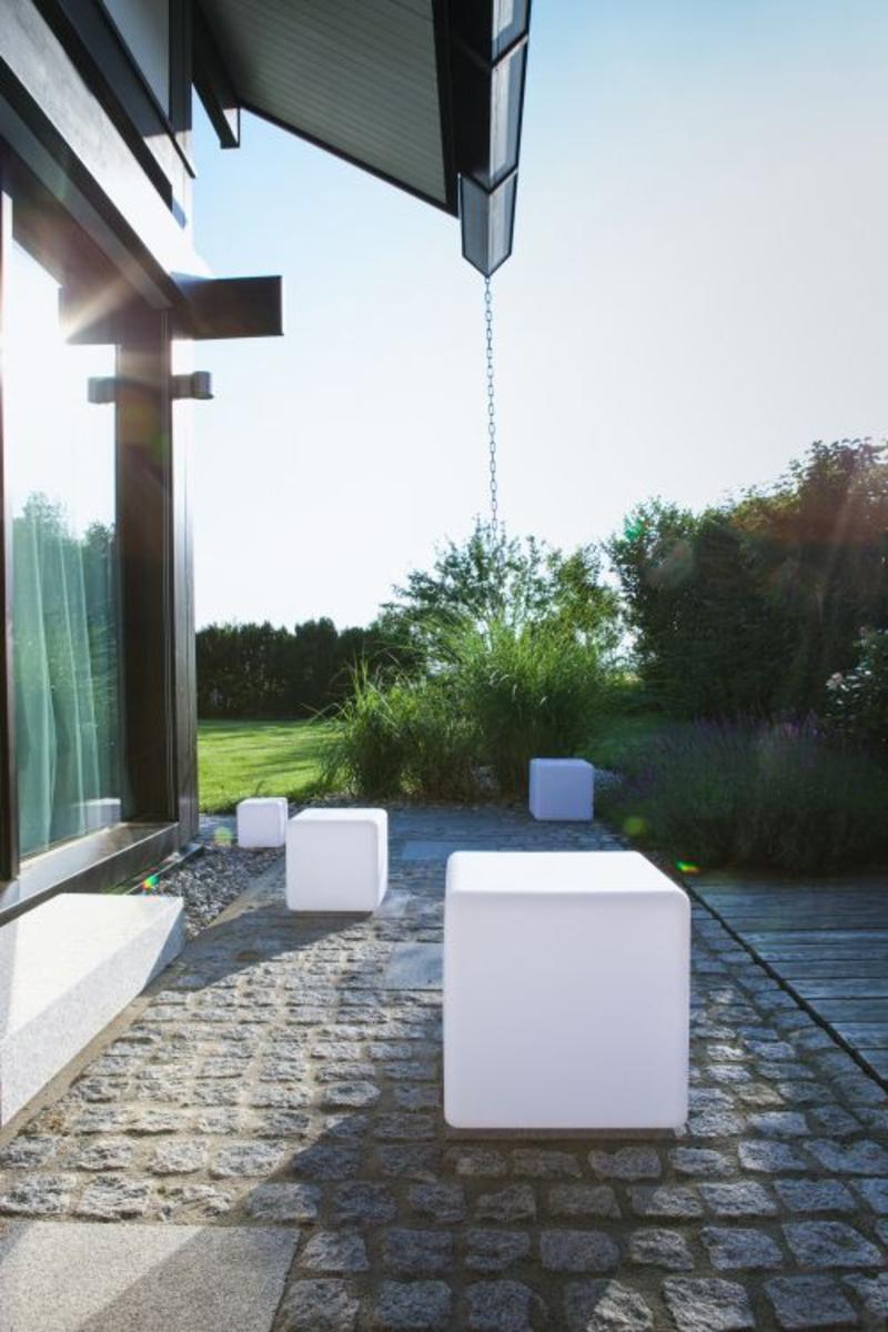 Bild 3 von Telefunken RGB-LED Solar-Gartenleuchte 30 cm Cube