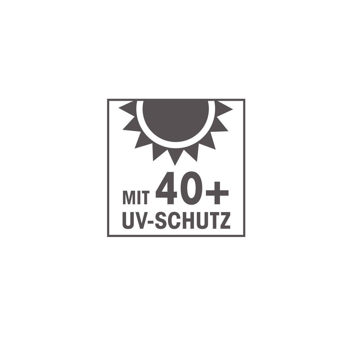 Bild 5 von EASYmaxx Sonnenschirm halbrund 270x140cm beige UV-Schutz