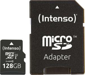 Intenso Micro SD-XC Karte 128GB UHS-I Premium