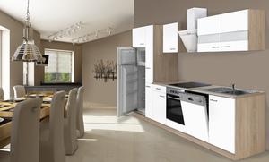 respekta Economy Küchenblock 310 cm, weiß