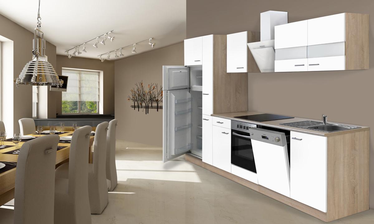 Bild 1 von respekta Economy Küchenblock 310 cm, weiß