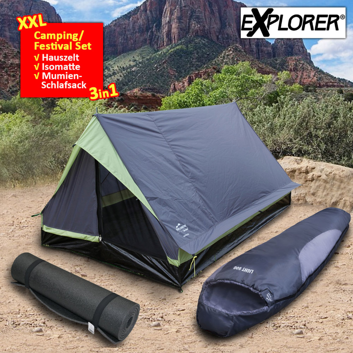 Bild 2 von Explorer Camping / Festival Set