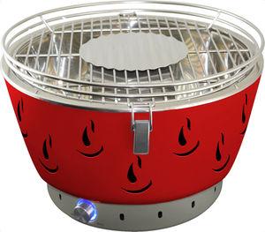 Activa Holzkohlegrill Airbroil Junior Set mit Aktivbelüftung rot