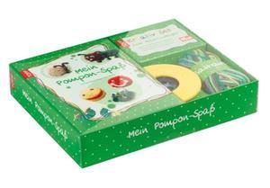 TOPP Kreativ-Set Mein Pompom-Spaß - lustige Bastelideen aus Wolle