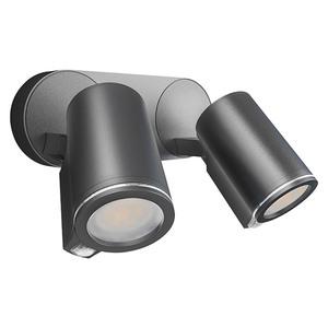 Steinel Sensor-LED-Außenwandstrahler Spot Duo
