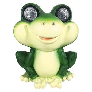 BAUHAUS Solarleuchte XXL Frosch