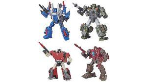Hasbro - Transformers Generations War for Cybertron Siege Deluxe Figur, sortiert