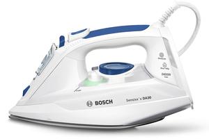 Bosch  Dampfbügeleisen Sensixx'x DA30, Keramiksohle, 2400 Watt, Vertikaldampf, Anti-Kalk