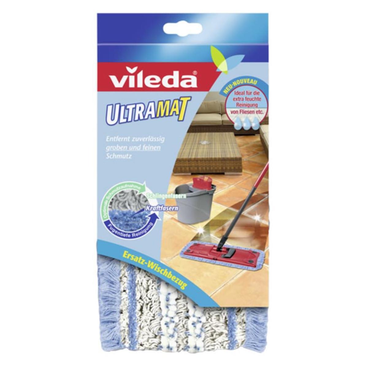 Bild 2 von Vileda Ultramat Reinigungssystem Bodenwischer  für fugentiefe Sauberkeit