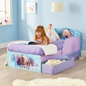 Die Eiskönigin - Kinderbett mit Stauraum - ca. 70 x 140 cm