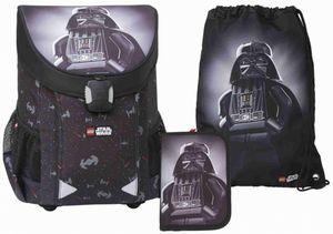 Schulranzen Set LEGO®Star Wars(TM)- Darth Vader - EASY - 3-teilig