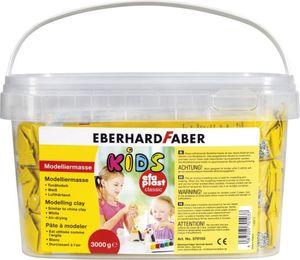 Modelliermasse Kids - EFA Plast Classic - weiß - ca. 3 kg