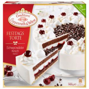 Coppenrath & Wiese Festtagstorte Schwarzwälder-Kirsch Torte 1400g