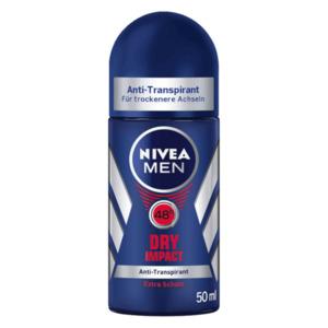 Nivea Men Deo-Roller Dry Impact Plus Antitranspirant 50ml