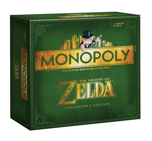 Monopoly Zelda Collector's Edition (deutsch) Square Box