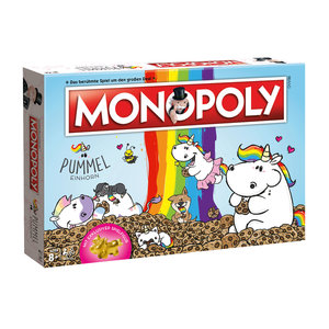 Monopoly Pummeleinhorn Collector's Edition Gold - Pummelfee Brettspiel (deutsch)