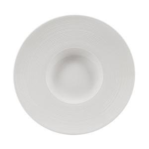 Villa Noblesse Dessertplatte Samantha / Bianco 3er Set Durable Porzellan