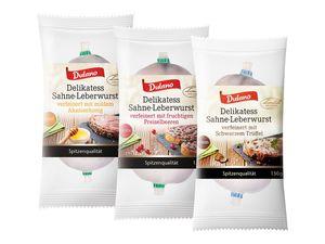 Delikatess-Sahneleberwurst