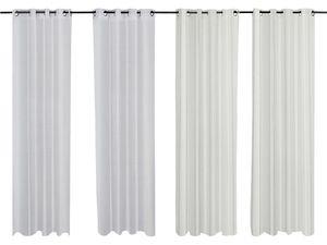 MERADISO® Vorhangschalset, 2-teilig, 140 x 260 cm