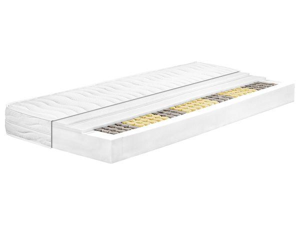 MERADISO® 7-Zonen Tonnentaschen-Federkernmatratze, H2, 140 x 200 cm