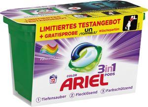 Ariel 3in1 Pods Colorwaschmittel 12WL