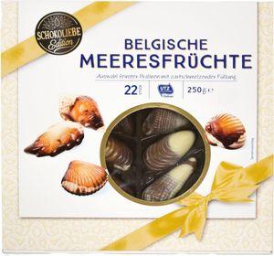 Belgische Meeresfrüchte Schokoliebe 250 g