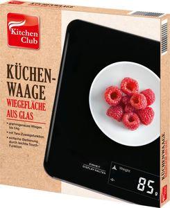 Kitchen Club Küchenwaage, eckig - schwarz