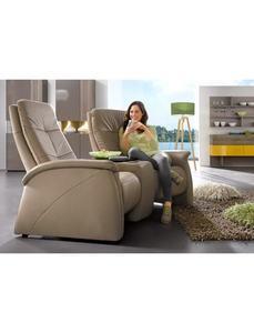 2-Sitzer, City Sofa, mit Relaxfunktion, integrierter Tischablage und Stauraumfach