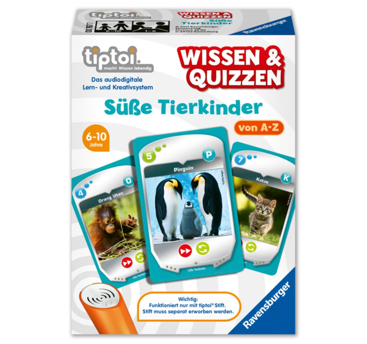Bild 1 von RAVENSBURGER tiptoi® Wissen & Quizzen