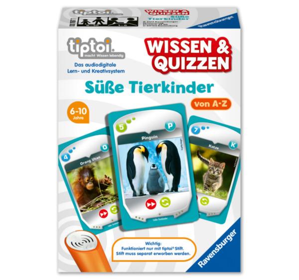 RAVENSBURGER tiptoi® Wissen & Quizzen